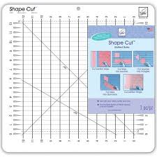June Tailor Shape Cut Slotted Ruler 730976079600 - Quilt in a Day ... & June Tailor Shape Cut Slotted Ruler Adamdwight.com