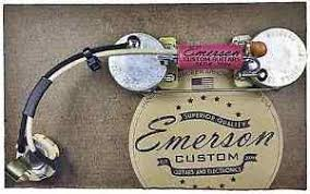 emerson custom p bass prewired kit wiring harness pots image is loading emerson custom p bass prewired kit wiring harness