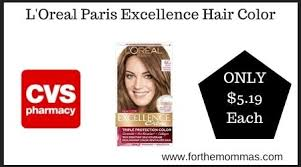 I prefer your hair dye above any other brand. L Oreal Paris Excellence Hair Color 5 19 Each At Cvs