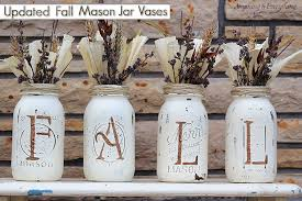 How To Decorate Canning Jars Updated Fall Mason Jar Vases Anything EverythingAnything 60