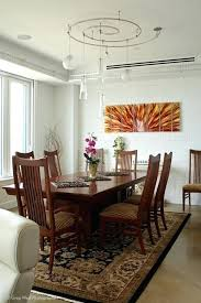 dining room track lighting. Dining Room Track Lighting Custom Accents The Space Contemporary Table Kimidoriproject.club