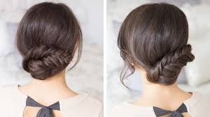 Luxy Hair Style fishtail updo youtube 8171 by wearticles.com