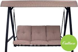 patio swing replacement cushions mainstays three person swing replacement cushions outdoor swing replacement cushions costco mainstays