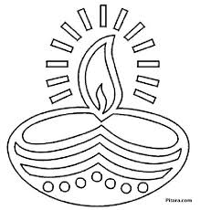 Find a tutorial like this on www.villamarigold.com. Diwali Coloring Pages For Kids Pitara Kids Network