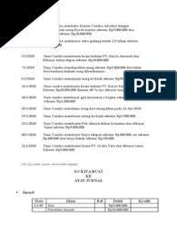 Soal contoh jurnal umum perusahaan dagang. Soal Jurnal Umum