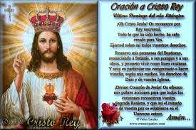 Blog Católico Gotitas Espirituales ®: ESTAMPAS CON ORACIONES A CRISTO REY