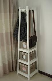 White Standing Coat Rack Amazon HomecharmIntl HC100 Coat Rack StandWhite Home Kitchen 31