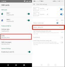May 06, 2019 · types of sim card. How To Change Dual Sim Settings On Android All You Need To Know Digital Citizen