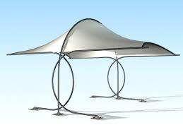 outdoor garden shade canopy free 3d