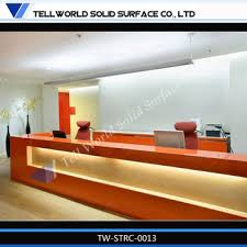 office reception counter. 2014 TW Artificial Marble Reception Desk/wooden Structure Desk/new Design Office Counter