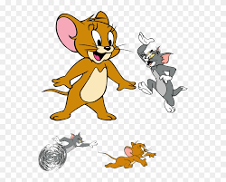 tom and jerry clipart vector tom and