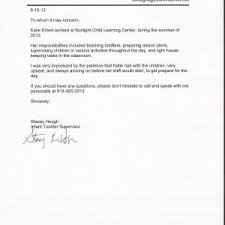Sample Letter Of Recommendation For Daycare Provider Sample Of Letter Of Recommendation For Daycare Teacher Archives