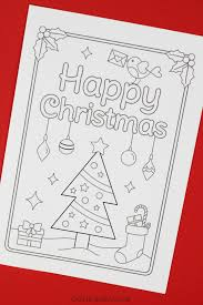 Free christmas ecards are ridiculously easy to send and you can do it from the comfort of your couch. Free Printable Christmas Cards To Colour Christmas Tree Crafts On Sea