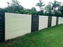 amazing home gorgeous sheet metal fence of best corrugated images