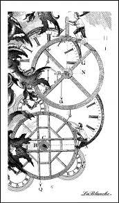 Stempel Räder Und Uhren