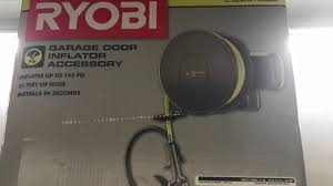 quiet garage door openerRyobi UltraQuiet Garage Door Opener Installed with Air Compressor