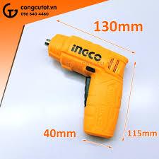 Bộ máy bắt vít dùng pin mô men xoắn 4 Nm Ingco CSDLI0402