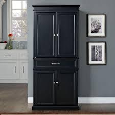 Black Kitchen Storage Cabinet Black Kitchen Pantry Storage Outofhome