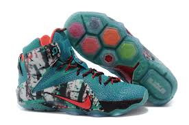 lebron 2015 shoes. 2015 cheap lebron 12 cyan blue james new basketball shoes mens nike lebron