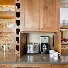 Creative Storage For All These Appliances Is Quite Important For A Small  Kitchen (via Digsdigs