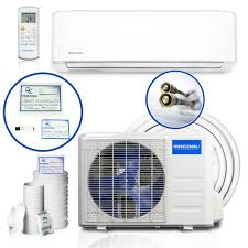 mrcool diy enhanced 18 000 btu 1 5 ton ductless mini split air conditioner and heat pump