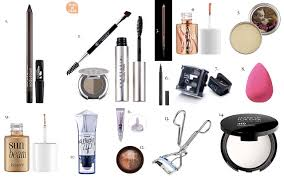 face makeup s name list list 10 make up items names travel makeup kit