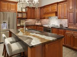Taj Mahal Granite Kitchen Tiled Kitchen Countertops Pictures Ideas From Hgtv Hgtv
