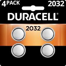 Duracell Watch Battery Conversion Chart Duracell 3v Lithium Coin Battery 2032 4 Pack Walmart Com