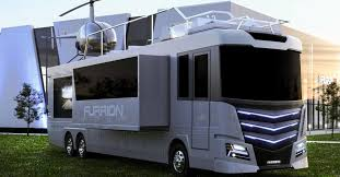 this baller motorhome comes complete with a hot tub and helicopter maxim