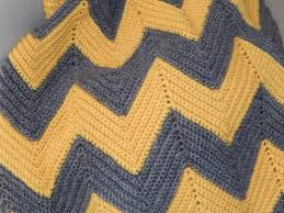 Double Crochet Chevron Blanket Pattern Magnificent Inspiration