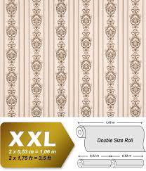 Barok Vlies Behang Xxl Edem 660 93 Snelbehang Elegant Barok Patroon