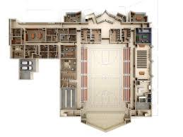 floor plan 3d. Church Facility First Floor Plan 3D Roof-off Rendering Raleigh North  Carolina 3d