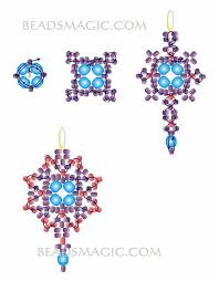 Free Beading Patterns Enchanting Freebeadingpatternearrings48 48x48 48Kb Бисероплетение