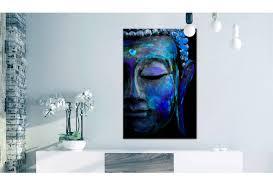 art print blue buddha zen canvas prints