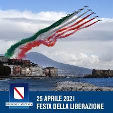 Campania: 25 aprile 2021 Festa della Liberazione