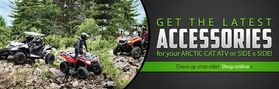 browse arctic cat atv and side x side accessories