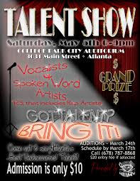 talent show flyer template free talent show flyer template