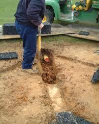 garden drainage. Herringbone Garden Drainage System