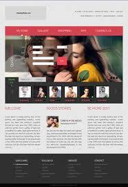 Online Dating Website Design Modern Playful Dating Web Design For Datemyplate By Omee