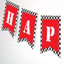 Birthday Banner Printable Monster Truck Happy Birthday Banner Printable Banner