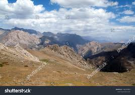 Mountain Landscape Mostly Barren Land Taken Stock Photo (Edit Now)  1168233853