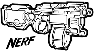 Small Picture Nerf Gun Coloring Pages Coloring Pages