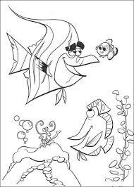 Disegno Di Nemo E Branchia Da Colorare Disegni Da Colorare E