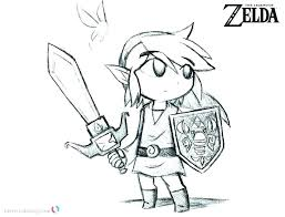 Legend Of Coloring Pages Latest The Zelda Twilight Princess Games