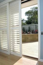 sliding plantation shutter doors glass doors a shutters on sliding plantation shutter sliding closet doors