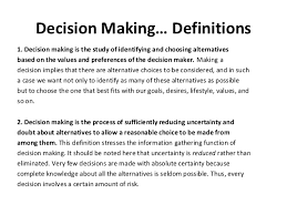Decision Essay Essay On Decision Making Magdalene Project Org