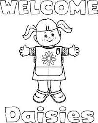 At Daisy Girl Scout Coloring Pages Coloring Pages For Children
