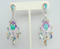 photo 2 of 7 vintage style costume jewelry chandelier earrings crystal earrings costume jewelry chandelier earrings