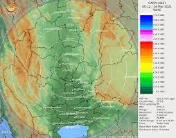 Radar ฝน กทม และ ปริมณฑล   เว็บภัยพิบัติ Paipibat.com