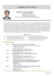 CURRICULUM VITAE EDWIN M. AGUINALDO Licensed Civil Engineer Contact No.